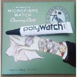 Polywatch & Watch cloth...